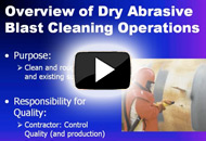 Quality Control of Abrasive Blast Cleaning Operations