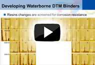 Overcoming Performance Challenges with Waterborne DTM Coatings