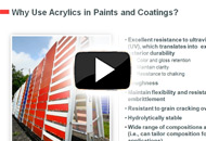One Component, Many Options: The Growing Role of Acrylics in Industrial Coatings